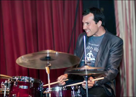 Keith Hall drummer